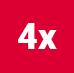 4x Icon